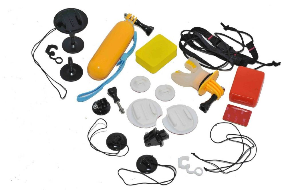 Ultimate Water Sports Surf/Kayak/Bodyboard Mount bundle GoPro Compatible